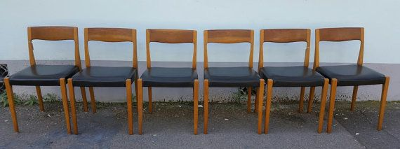 SOLD: Set of Four or Six 1960s Scandinavian Nils by EraBrighton