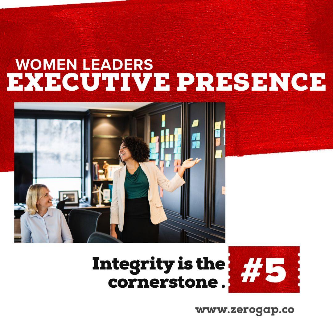 Women's Leadership Executive Presence Executive presence
