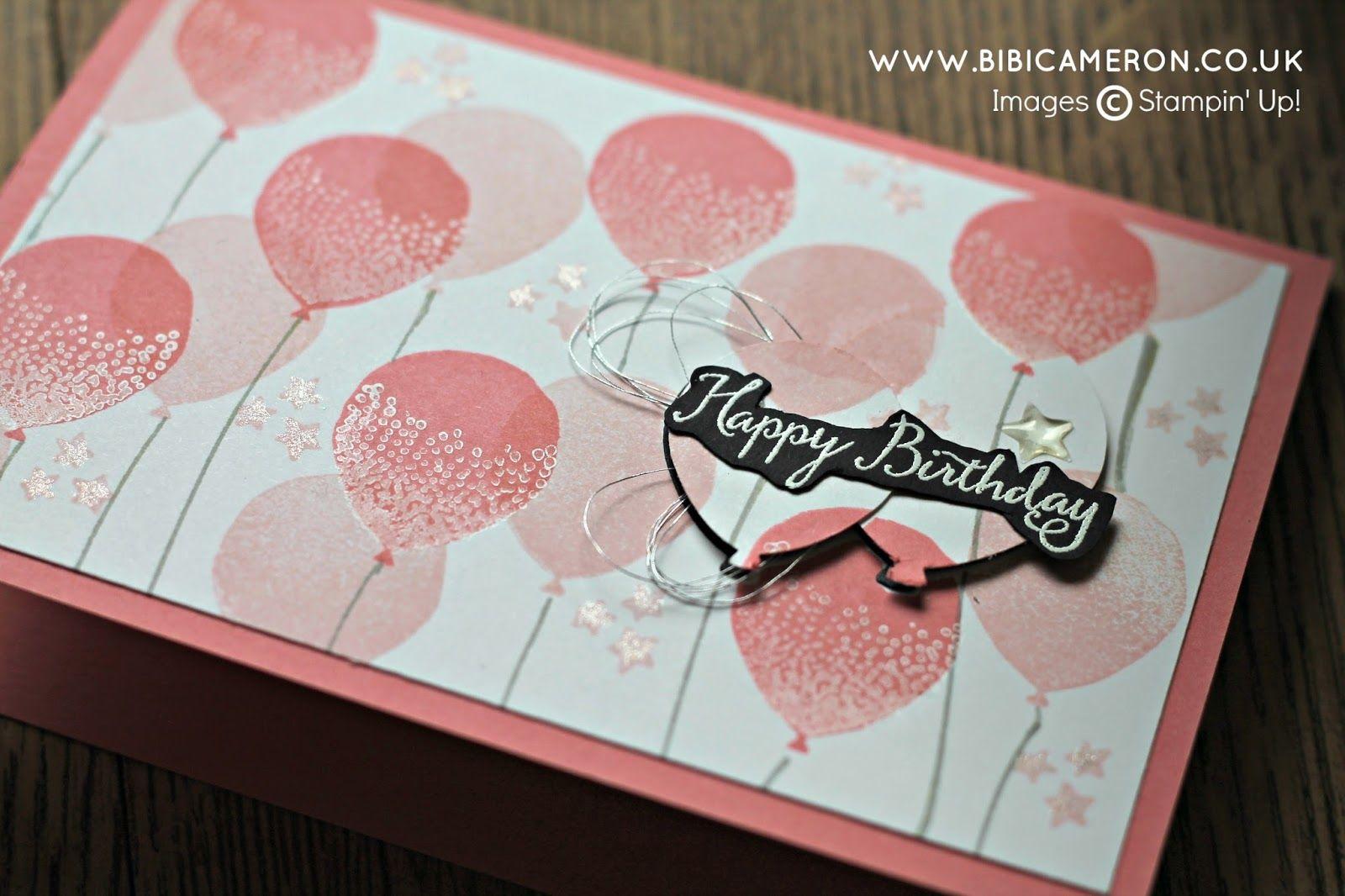 Bibi cameron papercraft designer celebrations stampin up and cards m4hsunfo