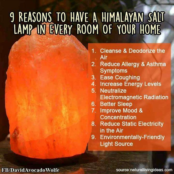 Salt Lamp Purpose Brilliant 9 Reasons To Have A Himalayan Salt Lamp In Every Room In Your Home Inspiration