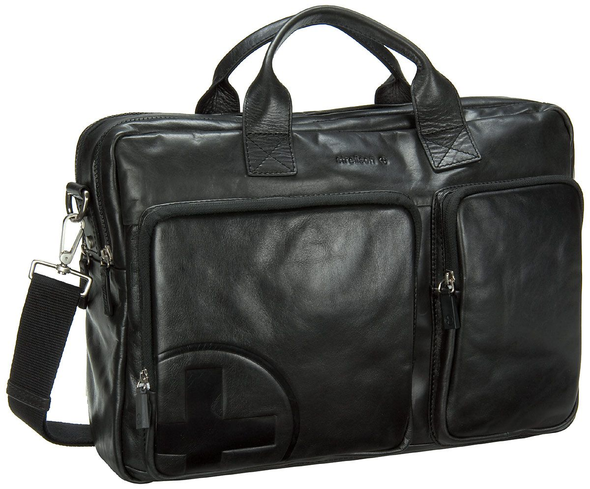 new style 0044c 52a91 Strellson – Jones Soft Briefcase Black - Strellson Jones ...