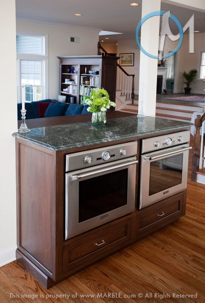 Side By Double Oven In An Island Hmmm Maybe Just The Sink