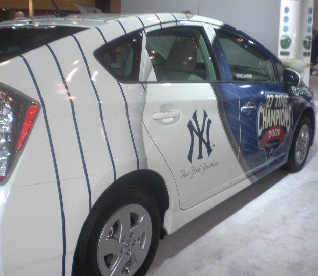 Yankees car