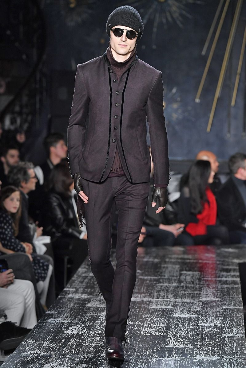 John varvatos menswear collection fall winter new york fashion