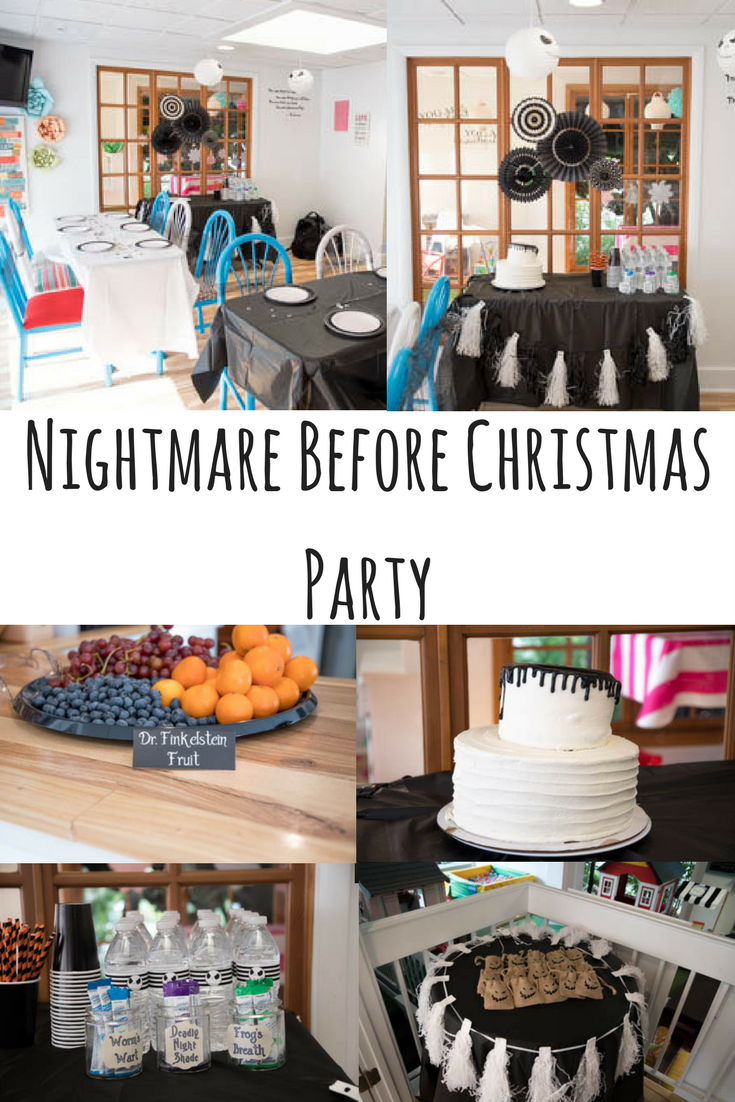 nightmare before christmas in july party | diy blog - group board