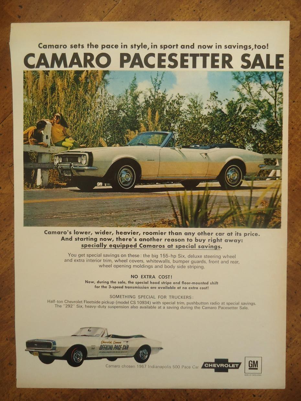 1st Generation Camaro Magazine Ads Red Camaro, Camaro Zl1, Chevy Camaro,  Chevrolet,