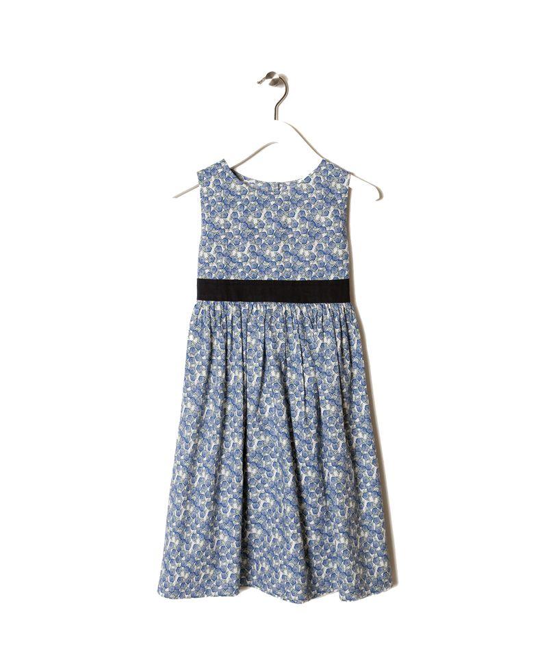 3f29e5eb3ccd Φόρεμα Μπλε Φλοράλ