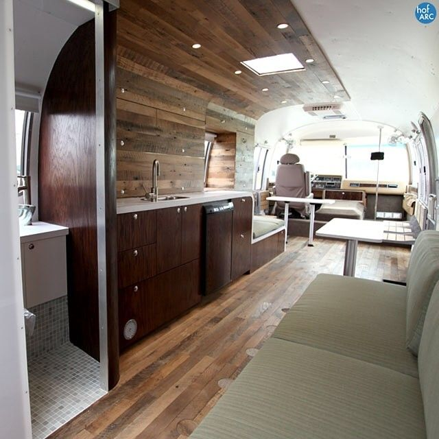 airstream interior hofarc my camper obsession pinterest caravane airstream et fourgon. Black Bedroom Furniture Sets. Home Design Ideas