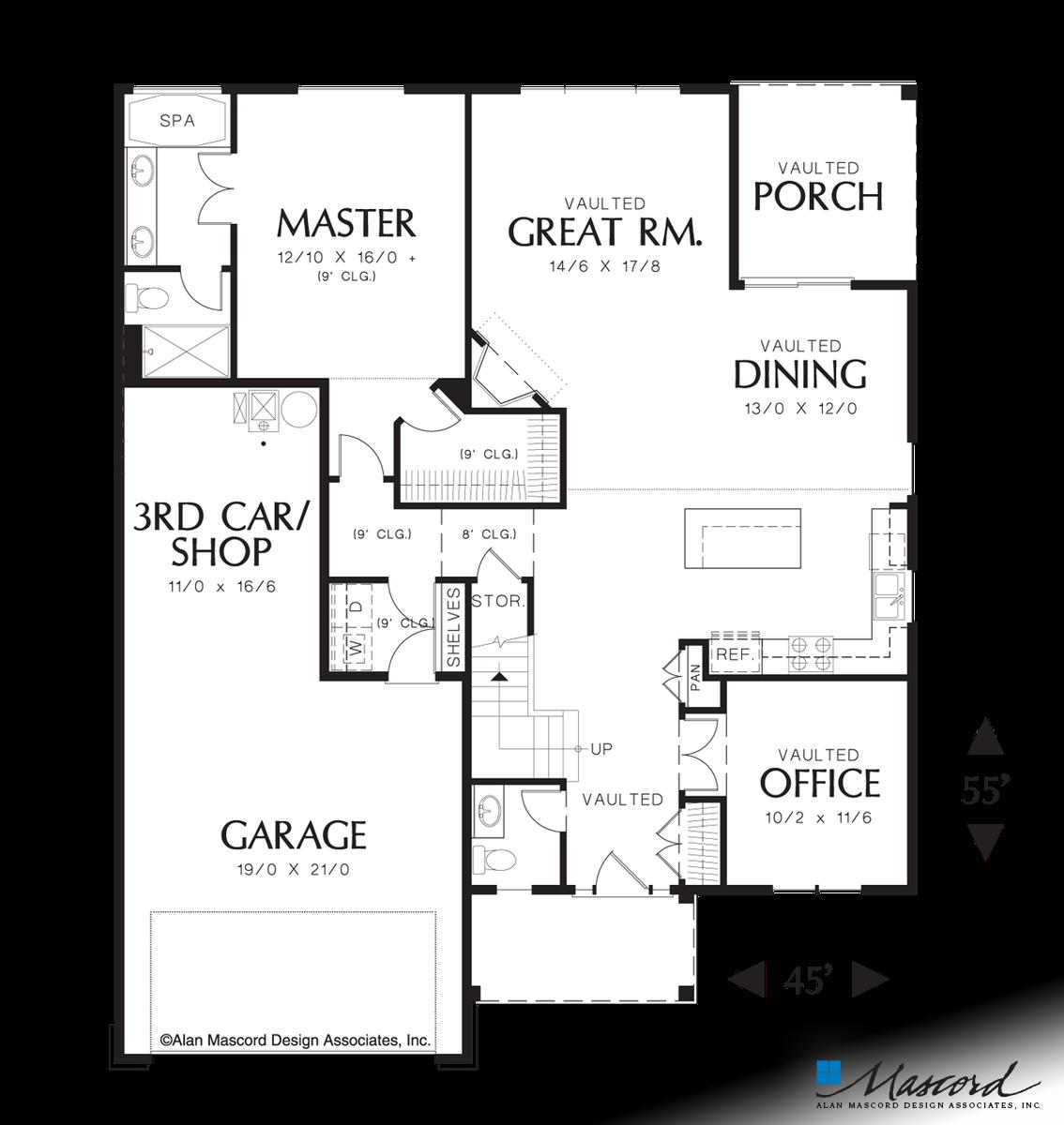 Plan 21103 The Ellwood Craftsman Style House Plans Craftsman