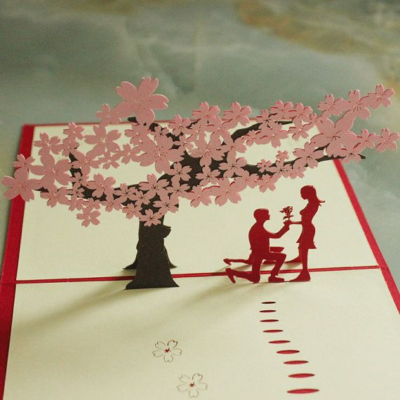 Pop Up Wedding Card Love You Valentines Day Girls Gift Etsy Wedding Card Diy Best Gift Cards Diy Cards Pop up wedding cards
