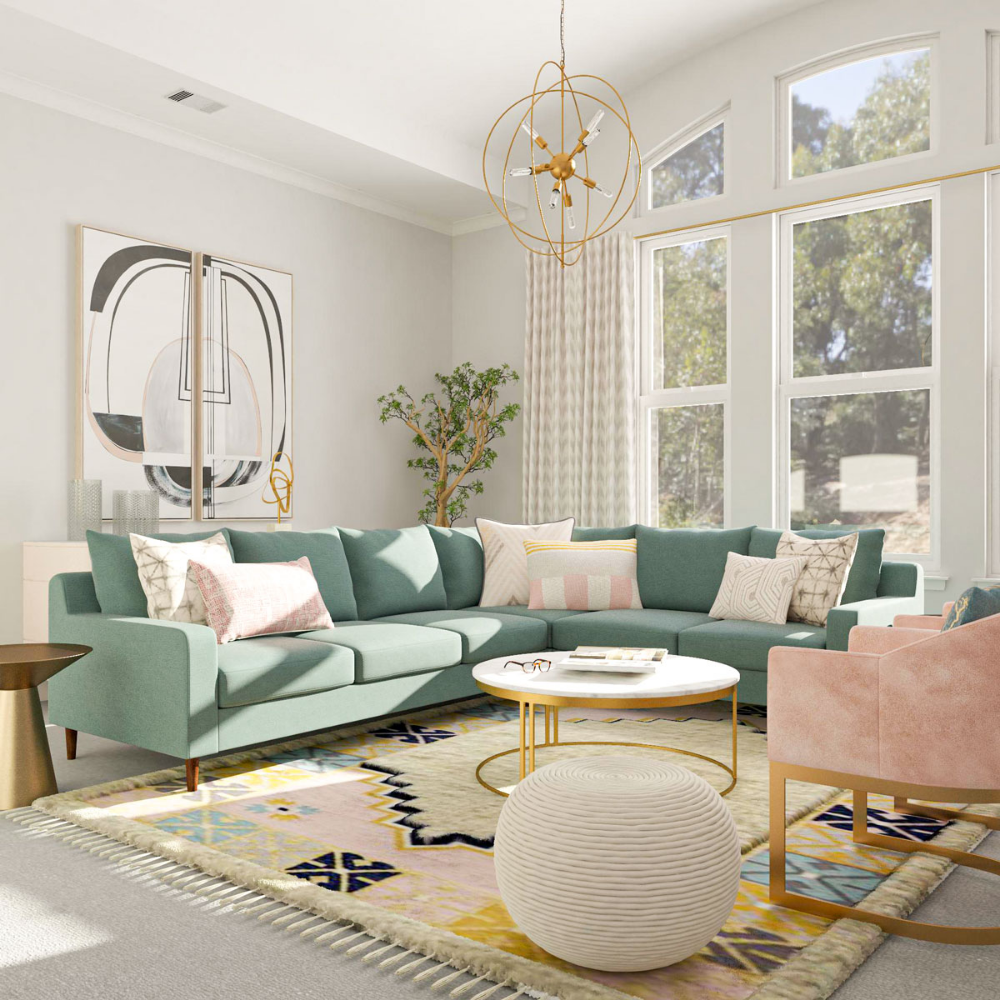 Mid Century Living Room Design: 18 Ideas for Your Next Design Project