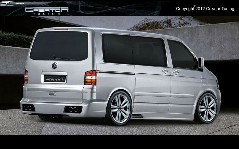 Photo of VW T5 Komplettvers Spoiler Set Body Kit Tuning Umbau neu Verbau