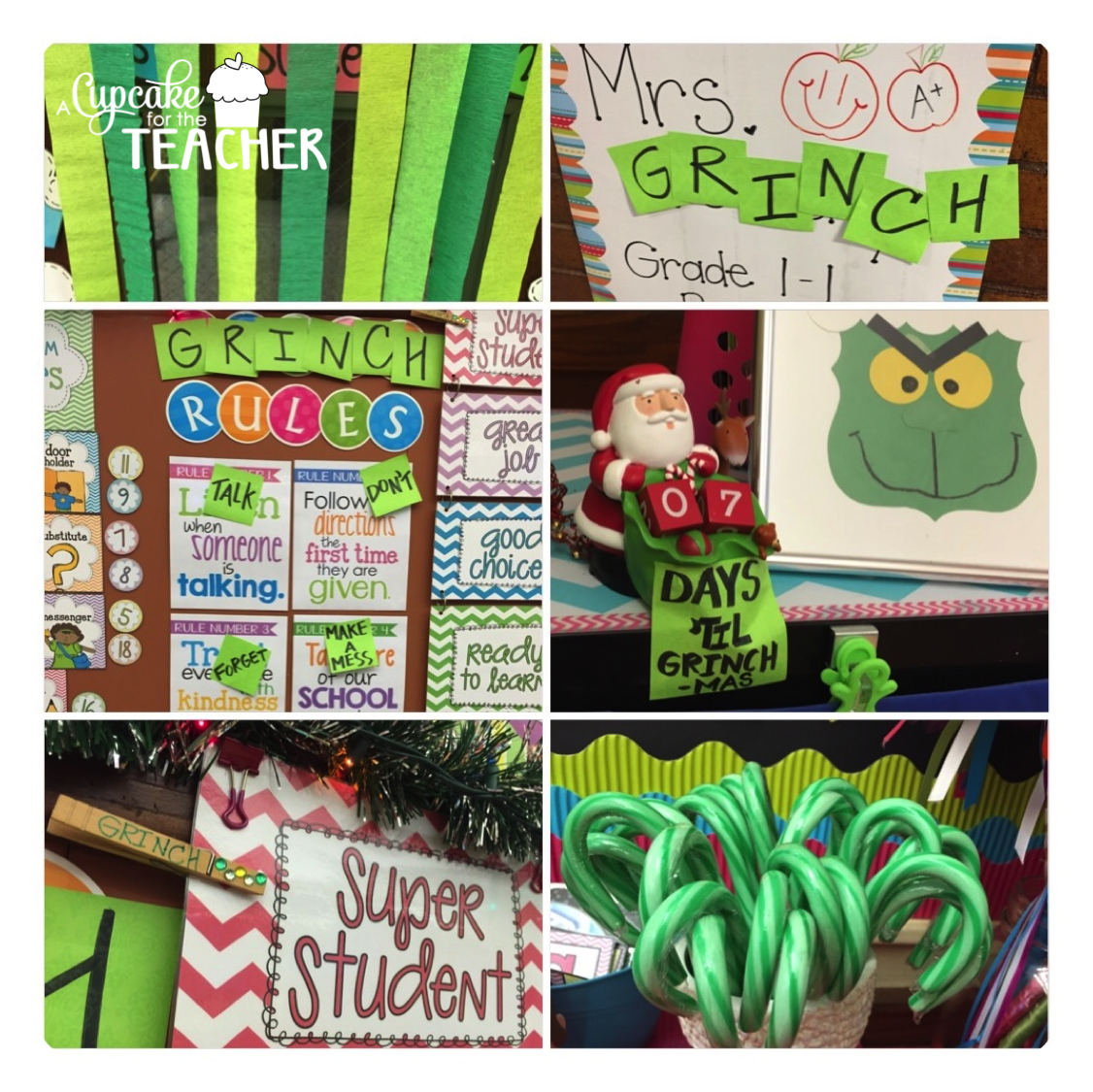 3rd Annual Grinch Day A Cupcake For The Teacher
