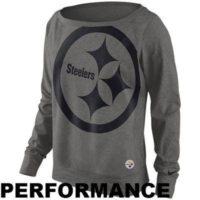 timeless design 07d99 3667c Nike Pittsburgh Steelers Ladies Wildcard Epic Crew ...