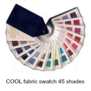 Color Analysis COOL fabric swatch  #color analysis swatch http://www.style-yourself-confident.com/color-analysis-swatch.html