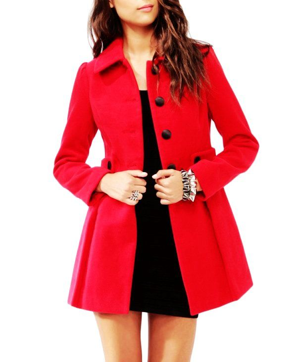 Cute Red Ladies Winter Coats - Red Ladies Winter Coats | All ...