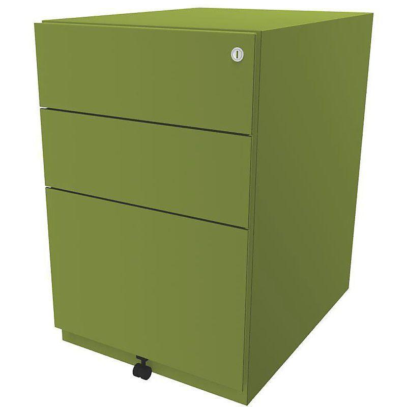 Bisley Caisson Roulant Note Avec 2 Tiroirs Universels 1 Tiroir Pour Dossiers Suspendus H X L X P 645 X 420 X 565 Mm Certeo Filing Cabinet Storage Furniture