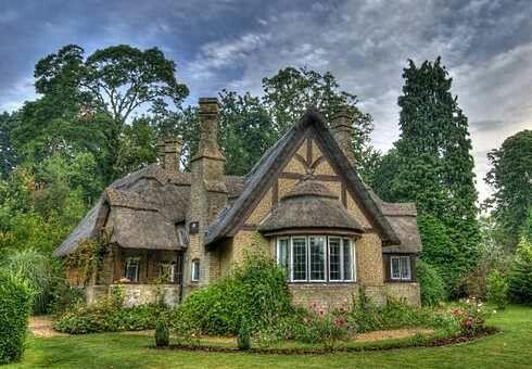 Fantasy Fairytale Cottage Cottage House Designs Cottage House Plans