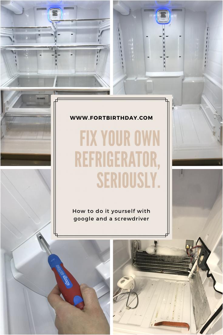 Kenmore Refrigerator Repair >> Diy Kenmore Elite Fridge Repair Taking Apart The Back Panel