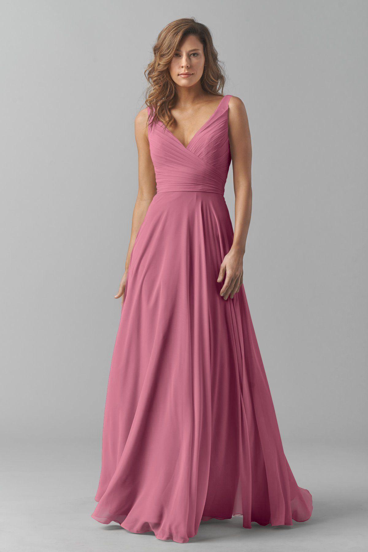 Watters Maids Dress Karen | Gowns | Pinterest | Damitas de honor ...