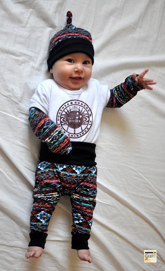 Big Lebowski Baby Clothes Baby Dude Outfit Baby Shower Gift Baby