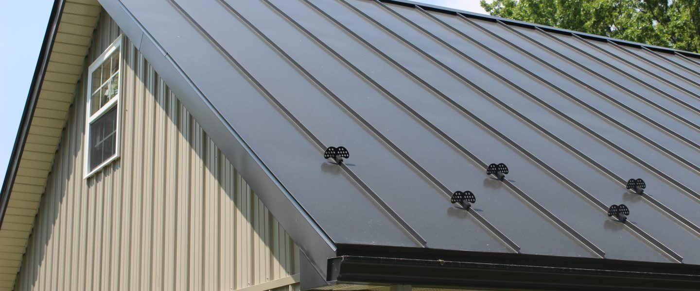 Metal Roof Snow Guards Corrugated metal roof, Metal roof