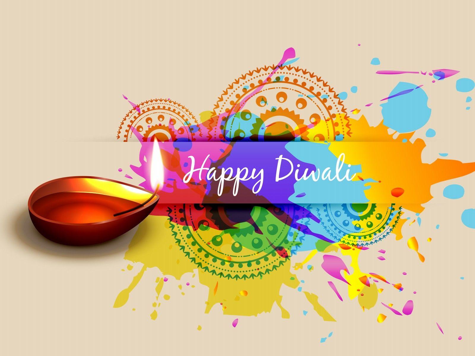 Happy Diwali Colorful Greetings Diwali Pinterest Happy Diwali