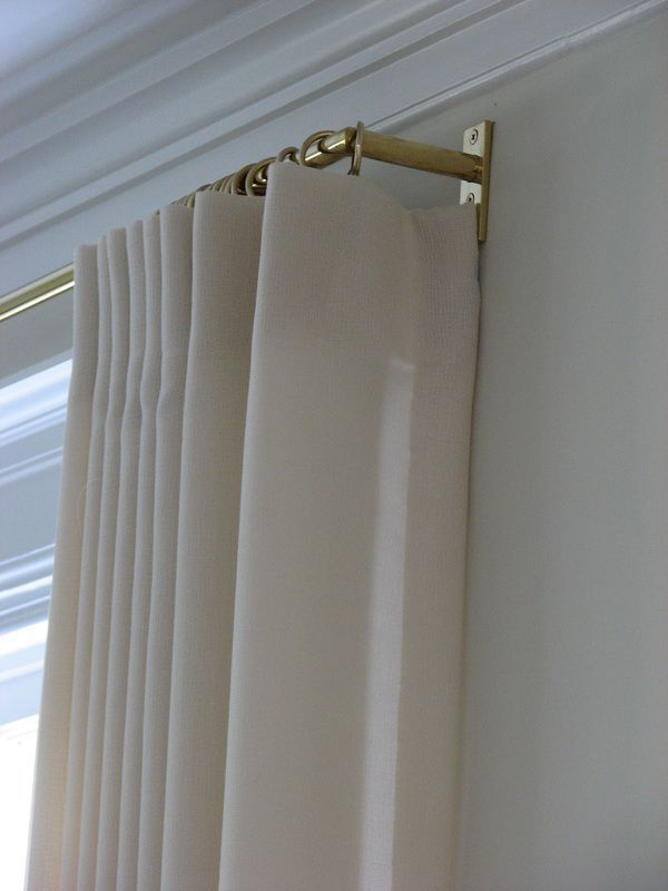 Lovely Drapery Detail Curtains With Blinds Curtains Window Coverings