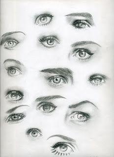 Göz Çalışmaları #realisticeye