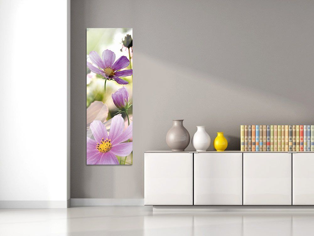 Amazonde Acrylglasbild Wandbild Acryglas Blumenbilder für