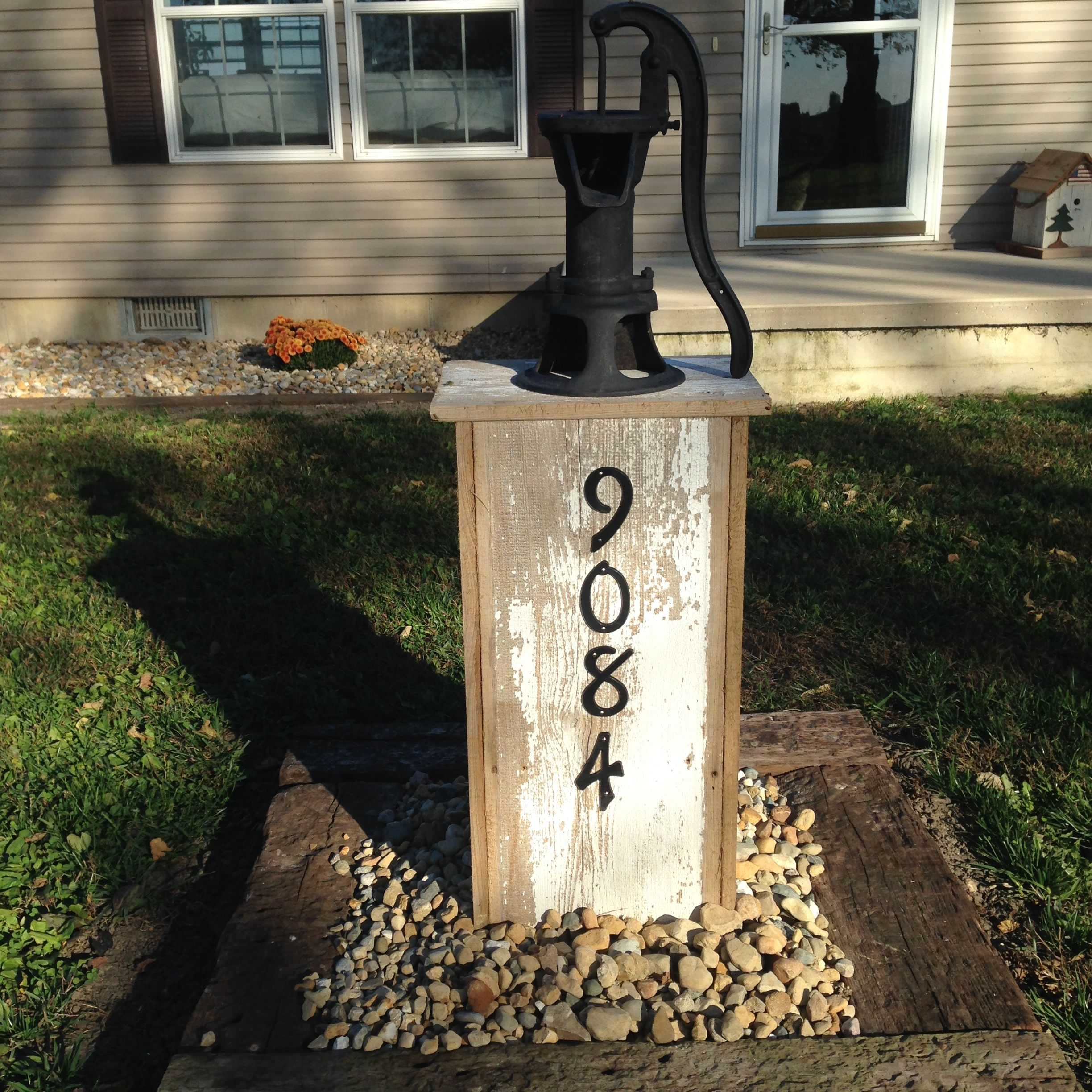 Outdoor Decorative Well Pump Covers