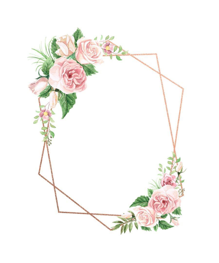 Black Flower Watercolor Art By Tae Lee: Wedding Invitations, Watercolor