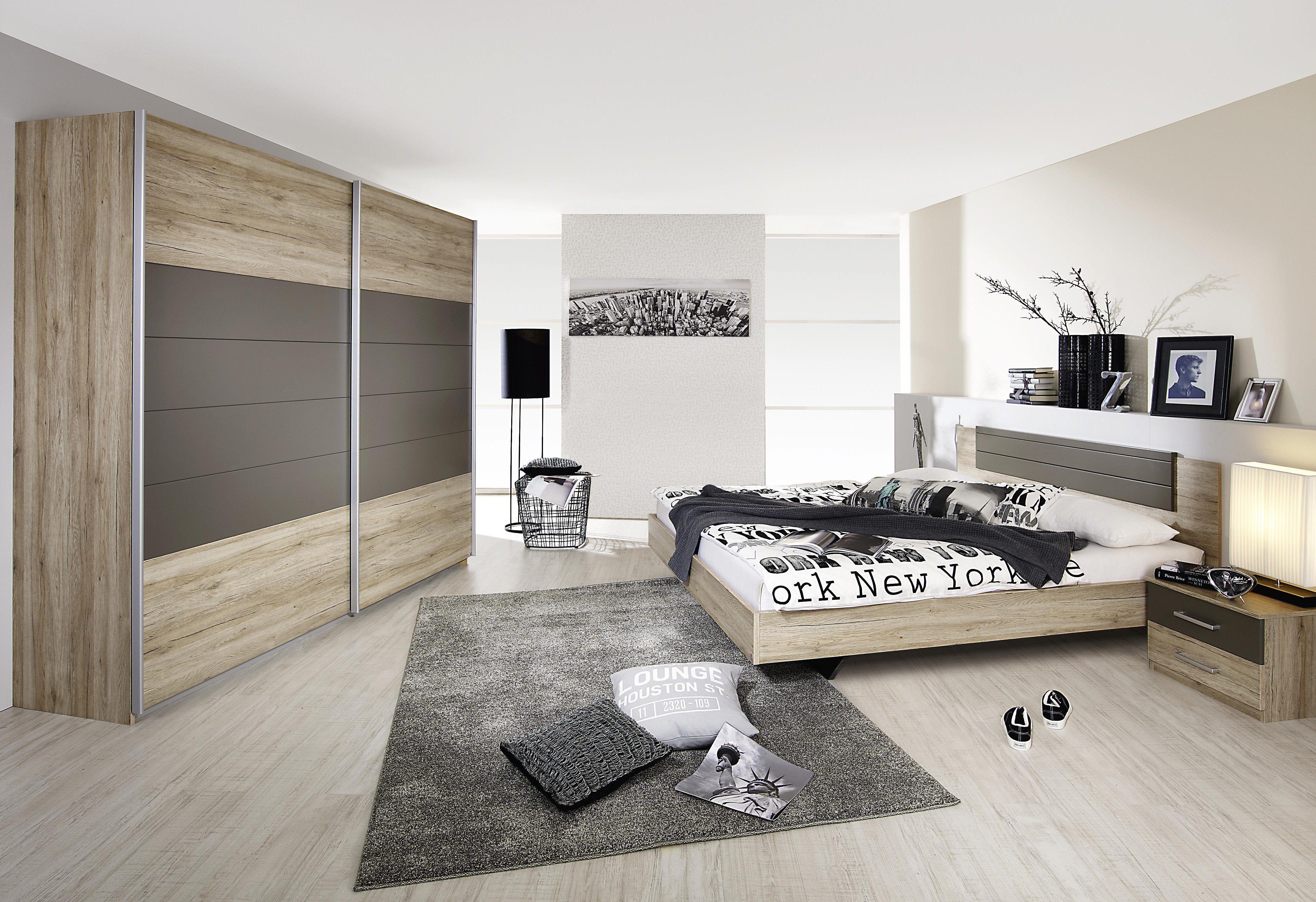 Rauch PACK`S SchlafzimmerSet (4tlg.) grau Jetzt