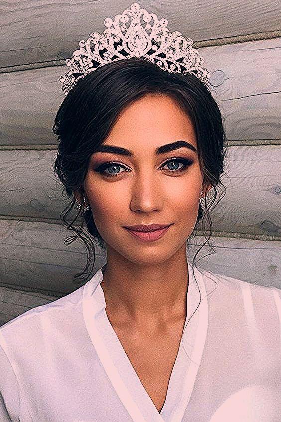 Photo of Braut Make-up Ideen; Hochzeits Make-up für braune Augen; blaue Augen; Hochzeits Make-up für ….