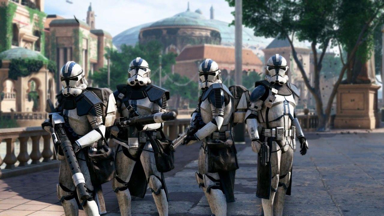 501st Legion Destroy The Mtt Star Wars Battlefront 2 Youtube Star Wars Pictures Star Wars Images Star Wars Background