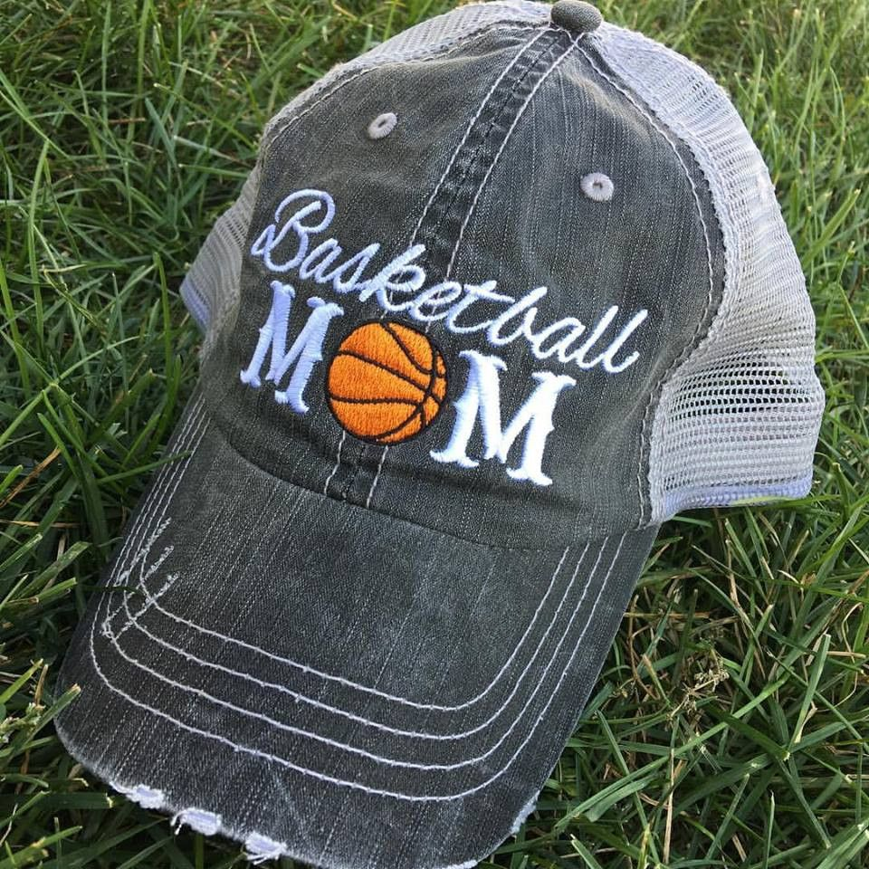 4331c93c408 Hat Basketball mom Basketball mom College basketball and