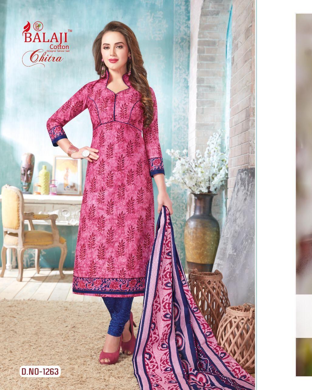 cb116bdc5d Balaji Cotton Chitra Vol 21 Salwar suit Wholesale Catalog 20 Pcs in ...