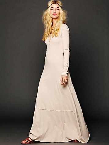 aee52cb7b1 Fancy - FP Beach Miles of Henley Dress at Free People Clothing Boutique