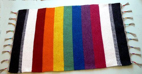rainbow rug (With images) | Baby nursery rainbow, Rainbow ...