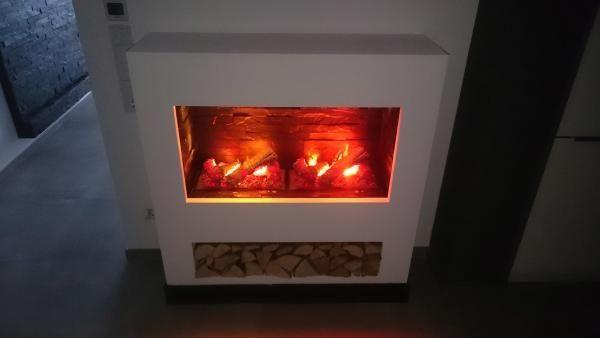 ▷ Elektrokamin selber bauen: Kaminfeuer aus Wasserdampf   Kamine in ...
