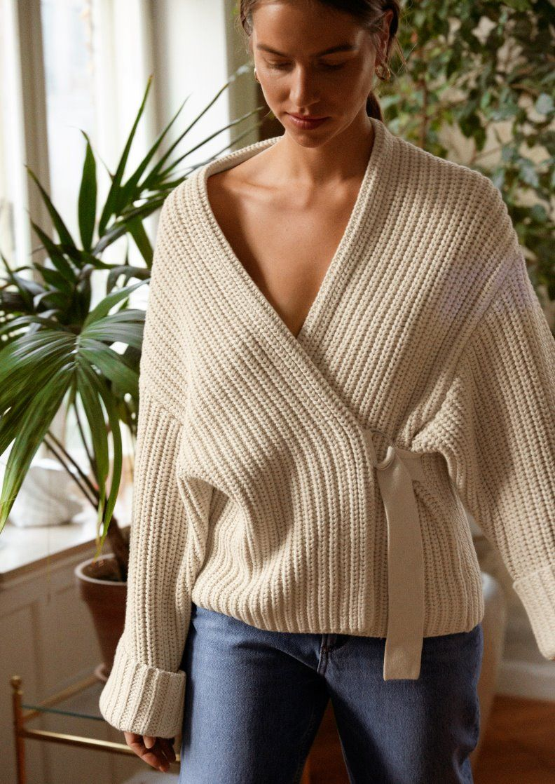 & Other Stories | Inspiration | Belted Cardigan | High