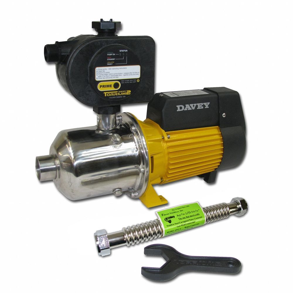 Davey Water Products Bt20 30t2 Usa Home Pressure Booster Pump With