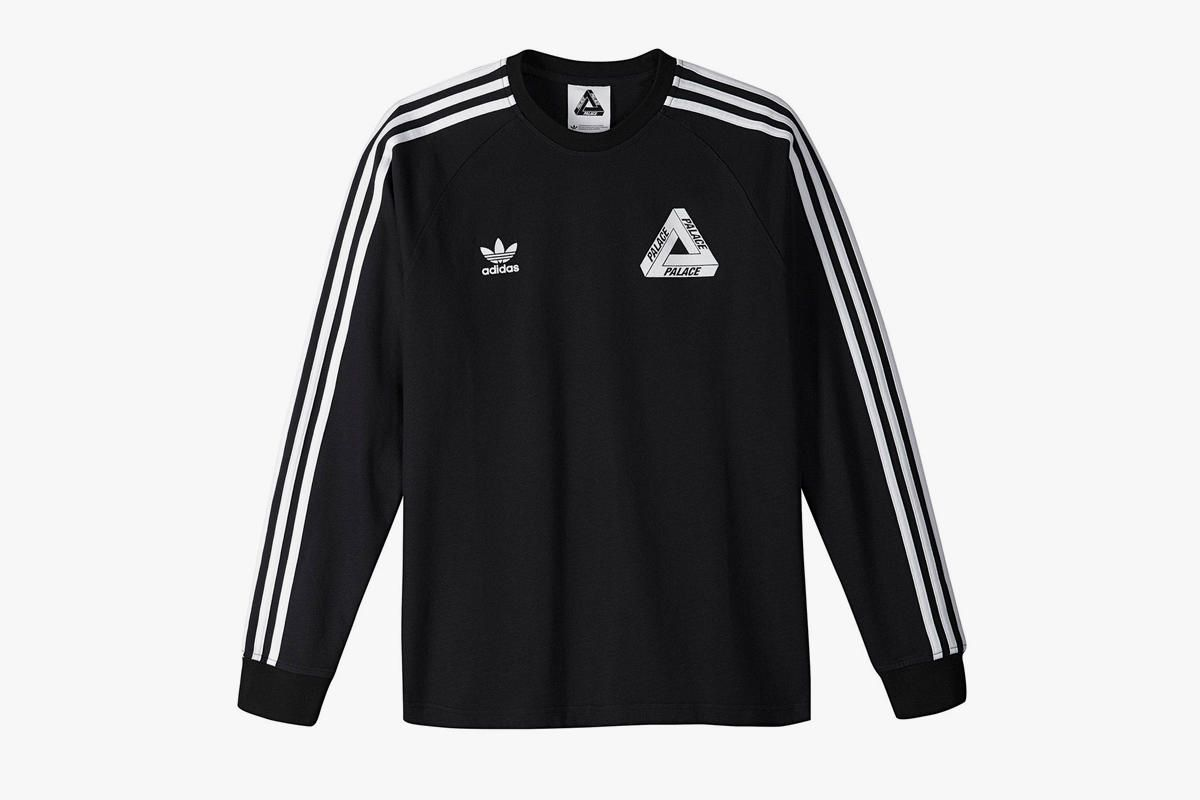 Adidas Originals X Palace Lsl T Shirt Black Shirt Team Shirts Sweatshirt Shirt [ 800 x 1200 Pixel ]
