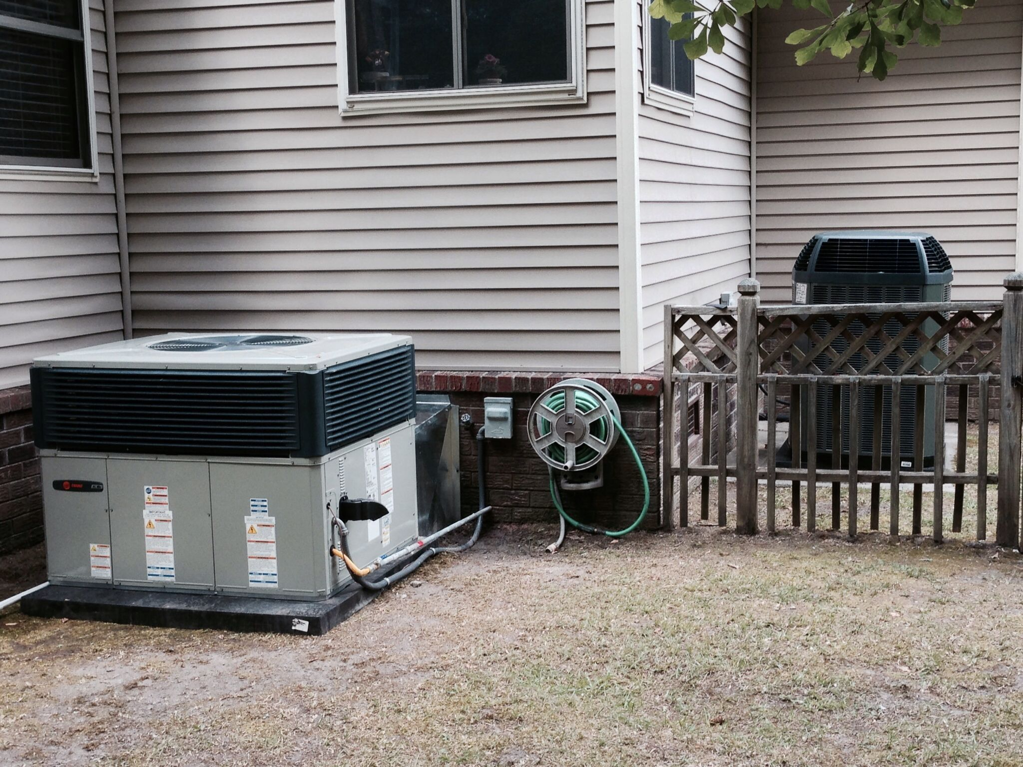 Two System Change Out  Trane Xl Series  High Efficiency