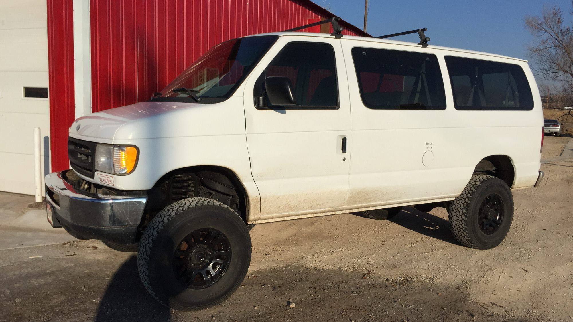 Ford Van 2 Wheel Drive Lift Kit Business I Am Selling A 2 Wheel