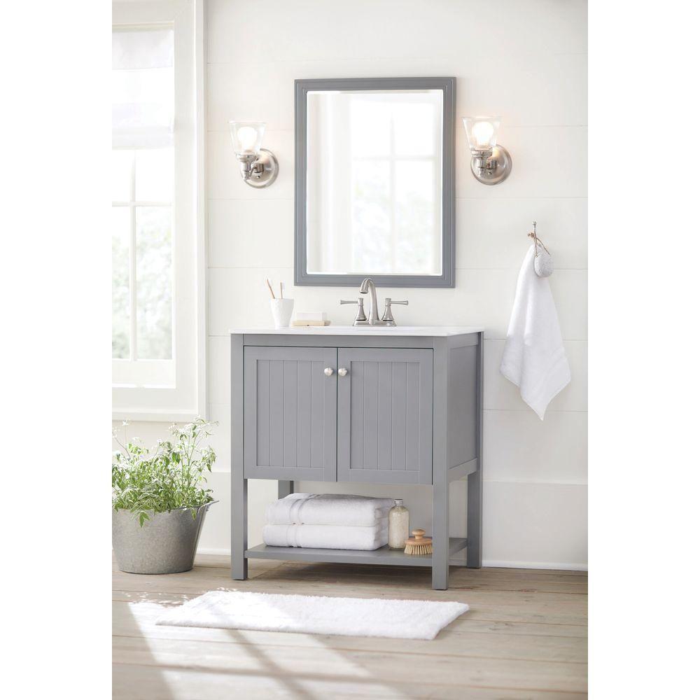 Home Depot Bath Vanities 30   Bathroom idea   Pinterest   Bath ...