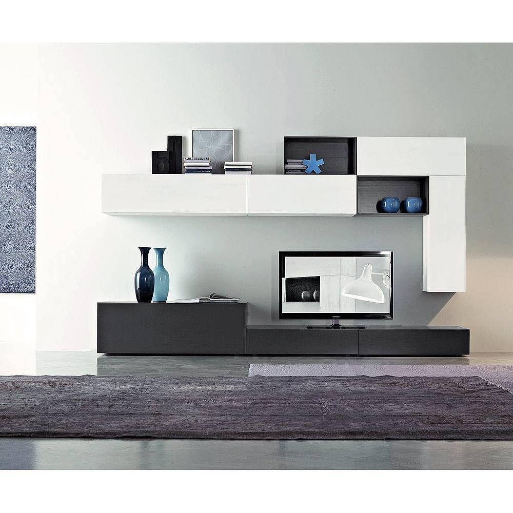 Die Moderne Und Hochwertige Wohnwand C26b Von Fgf Mobilibesteht  # Moderne Table A Tv