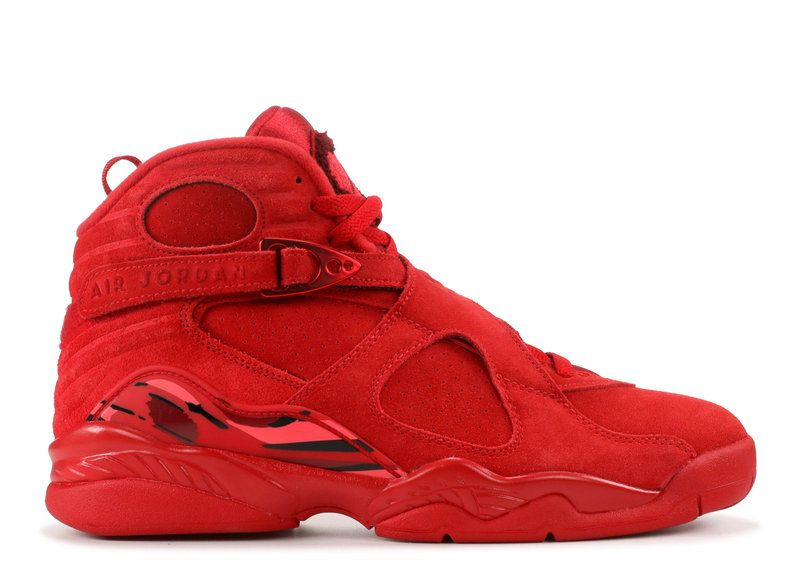 2018 Cheap Wmns Air Jordan 8 Vday Valentines Day Gym Red Ember Glow
