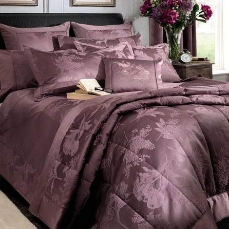 Dorma Plum Jasmina Collection Bedspread Dunelm Or This To Match