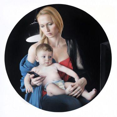 "Saatchi+Online+Artist+Tigran+Tsitoghdzyan;+Painting,+""Millenium""+#art"